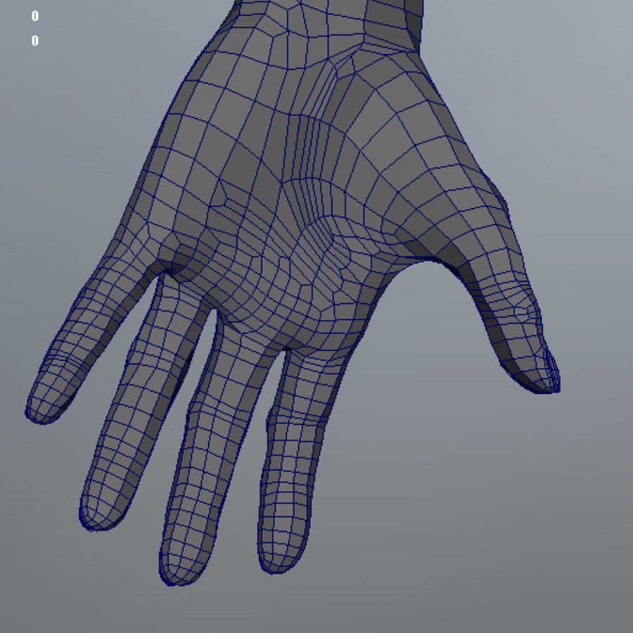 Human Male Base Mesh royalty-free 3d model - Preview no. 28