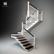 Staircase Classic 3d model