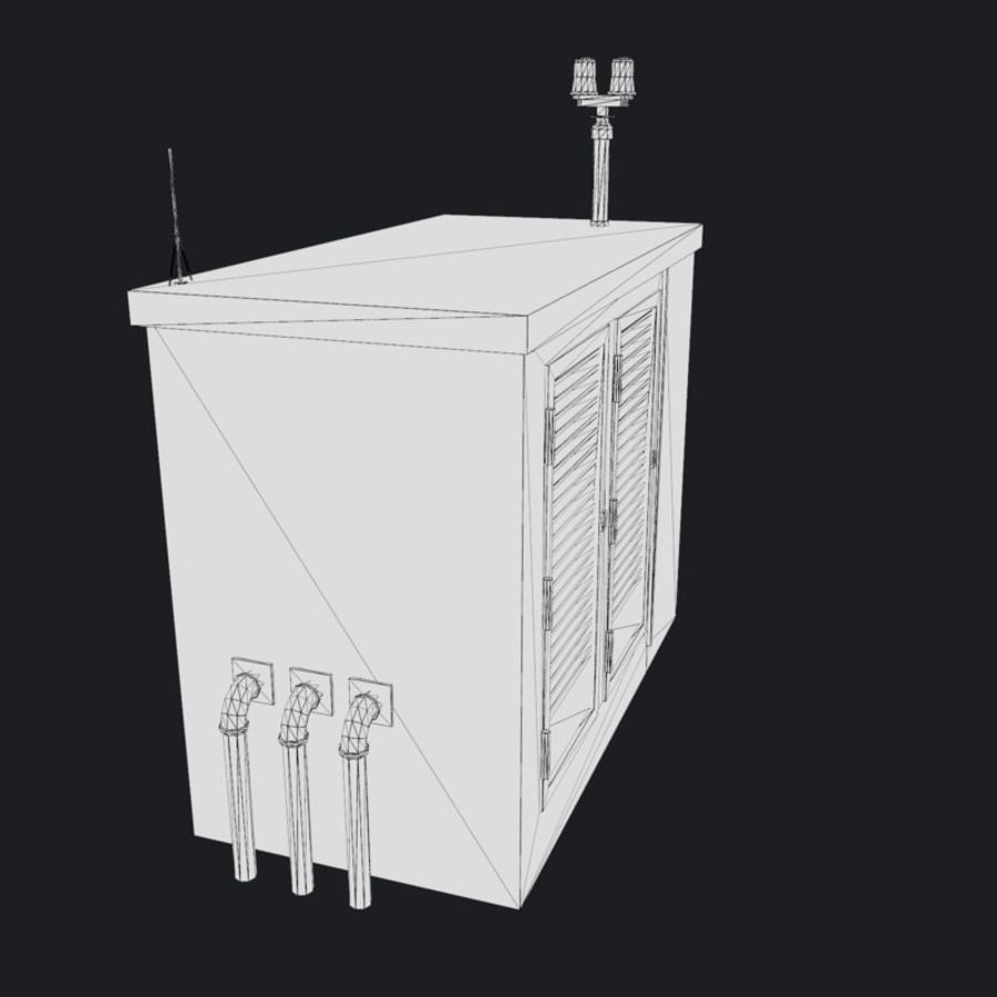Electronics Shelter 01 royalty-free 3d model - Preview no. 11