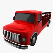 cartoon truck 3d model