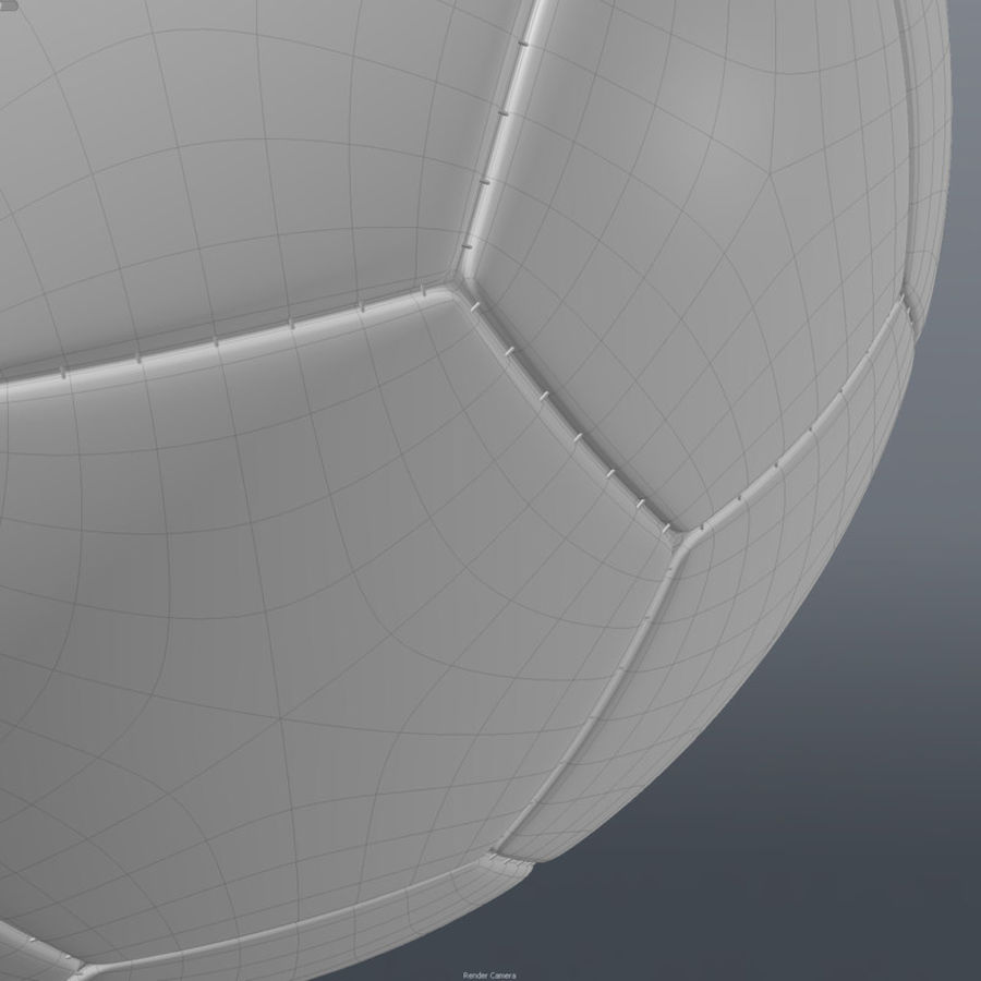 Soccer Ball royalty-free 3d model - Preview no. 11