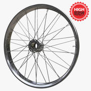 Bicycle Wheel 3d model