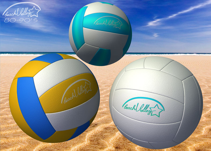Beach Set Extended royalty-free 3d model - Preview no. 11