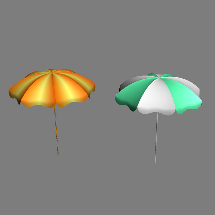 Beach Set Extended royalty-free 3d model - Preview no. 26