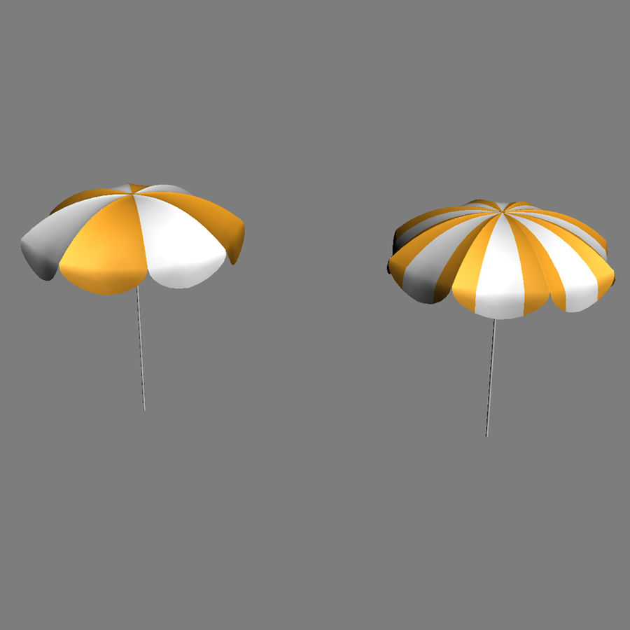 Beach Set Extended royalty-free 3d model - Preview no. 28