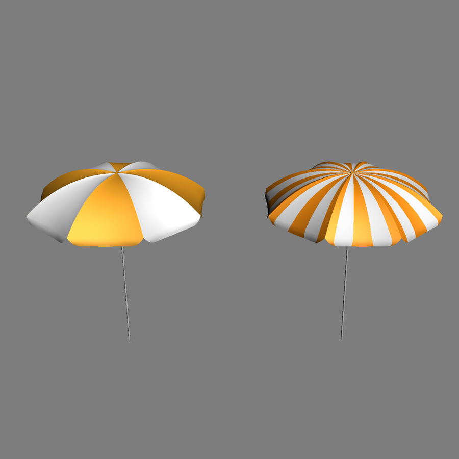 Beach Set Extended royalty-free 3d model - Preview no. 24