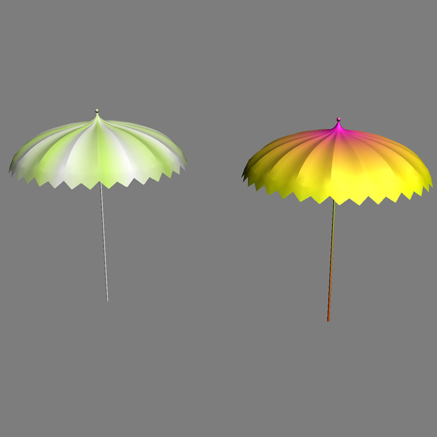 Beach Set Extended royalty-free 3d model - Preview no. 18