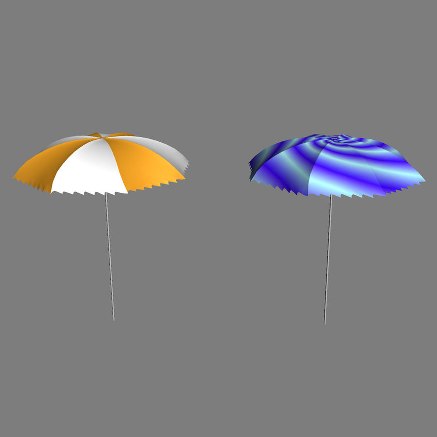 Beach Set Extended royalty-free 3d model - Preview no. 23