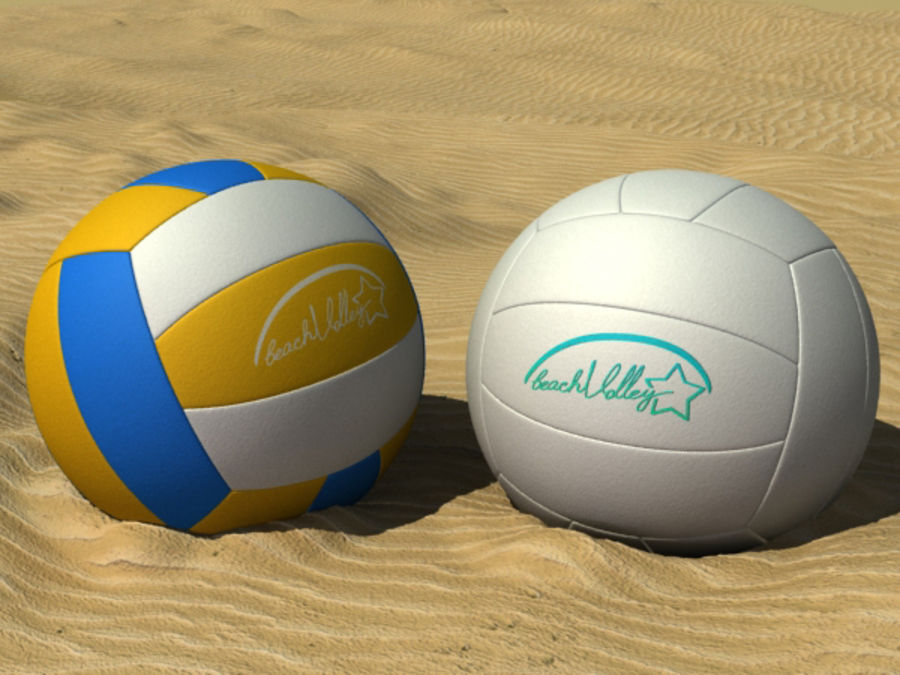 Beach Set Extended royalty-free 3d model - Preview no. 10
