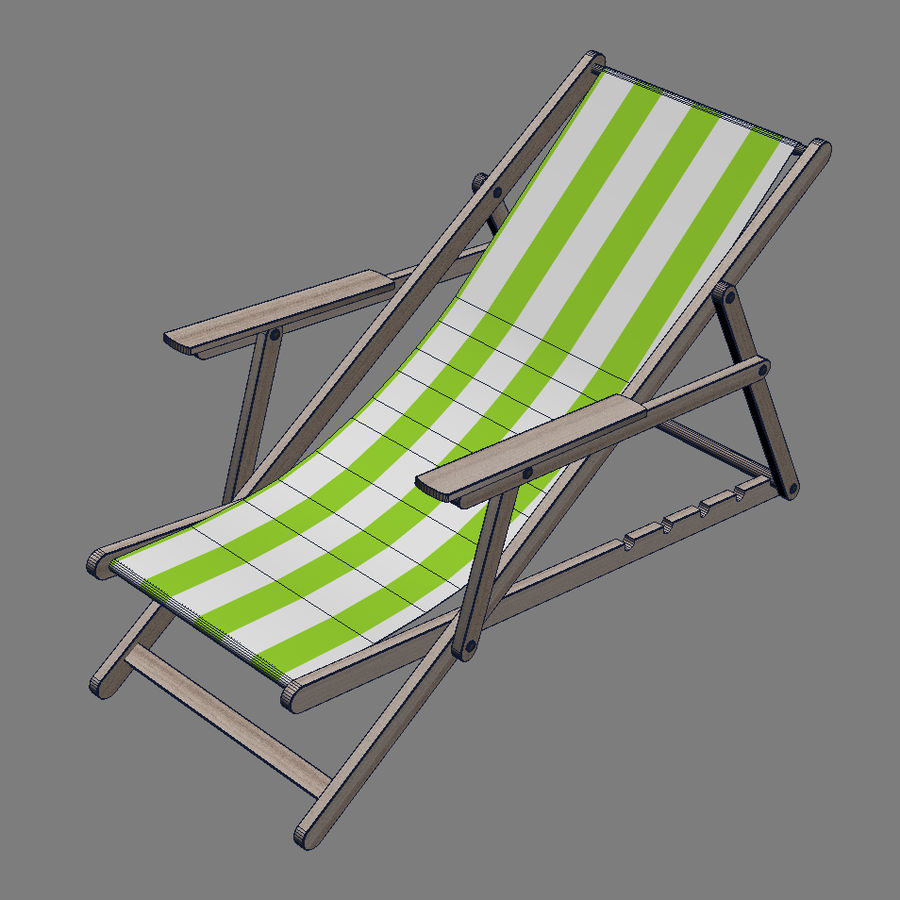 Beach Set Extended royalty-free 3d model - Preview no. 7