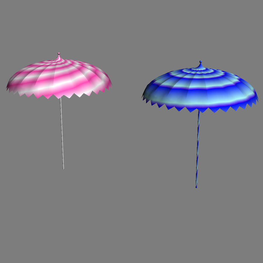 Beach Set Extended royalty-free 3d model - Preview no. 17