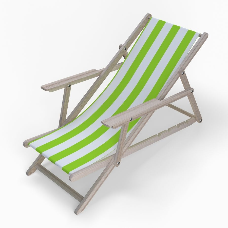Beach Set Extended royalty-free 3d model - Preview no. 6