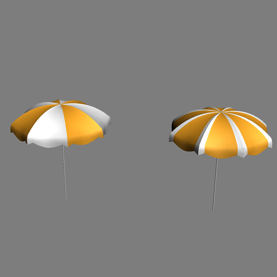 Beach Set Extended royalty-free 3d model - Preview no. 27