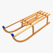 Sledge 3d model