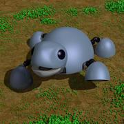 Kaplumbağa Robotu 3d model