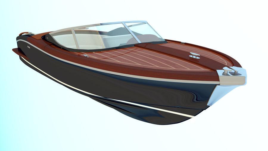 Aquariva Super royalty-free 3d model - Preview no. 1