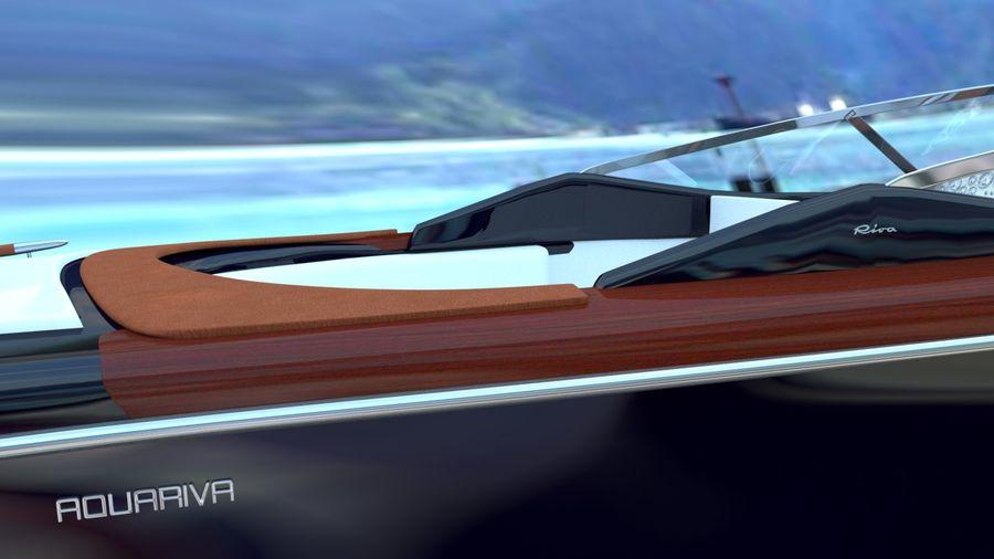 Aquariva Super royalty-free 3d model - Preview no. 4