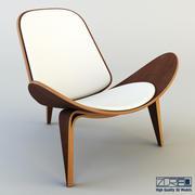 Shell chair 3d model