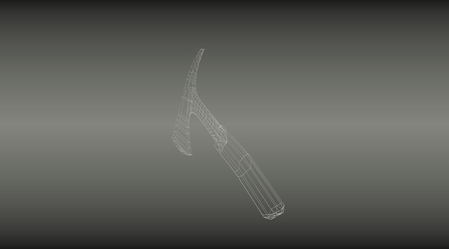 큰 도끼 royalty-free 3d model - Preview no. 6