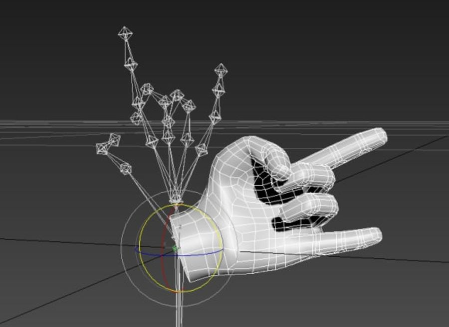 Hand royalty-free 3d model - Preview no. 6
