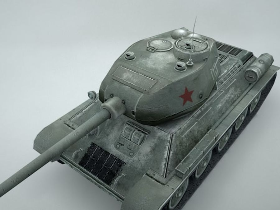 t-34 royalty-free 3d model - Preview no. 12