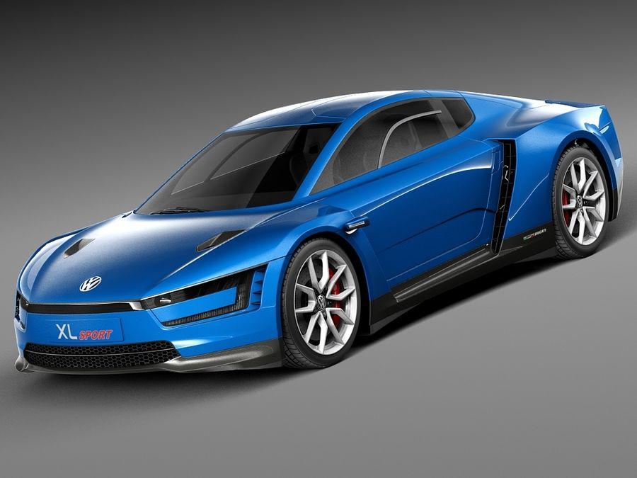 Volkswagen XL Sport 2015 3d Model