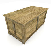 Shipping Crate 02 3d model