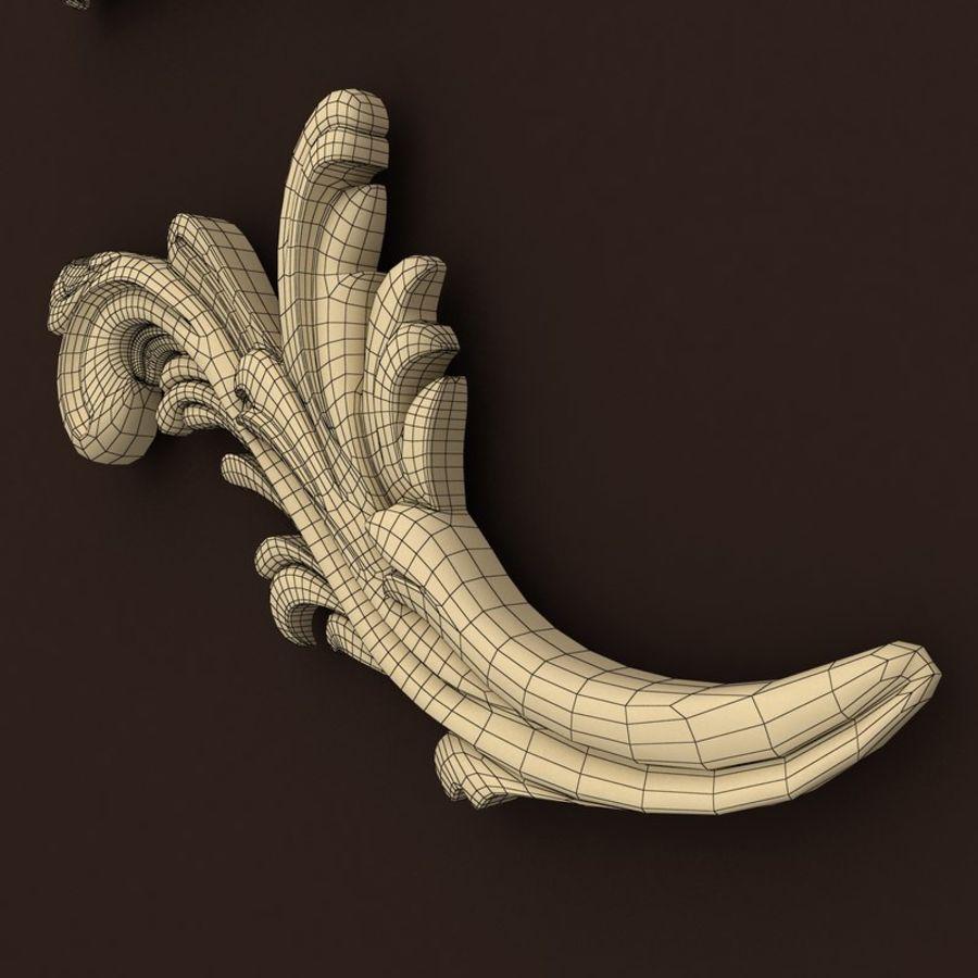 décor royalty-free 3d model - Preview no. 7
