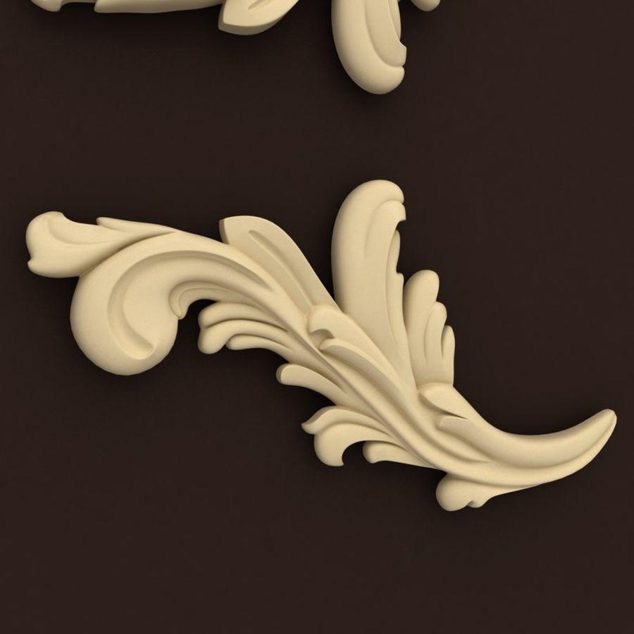 décor royalty-free 3d model - Preview no. 2