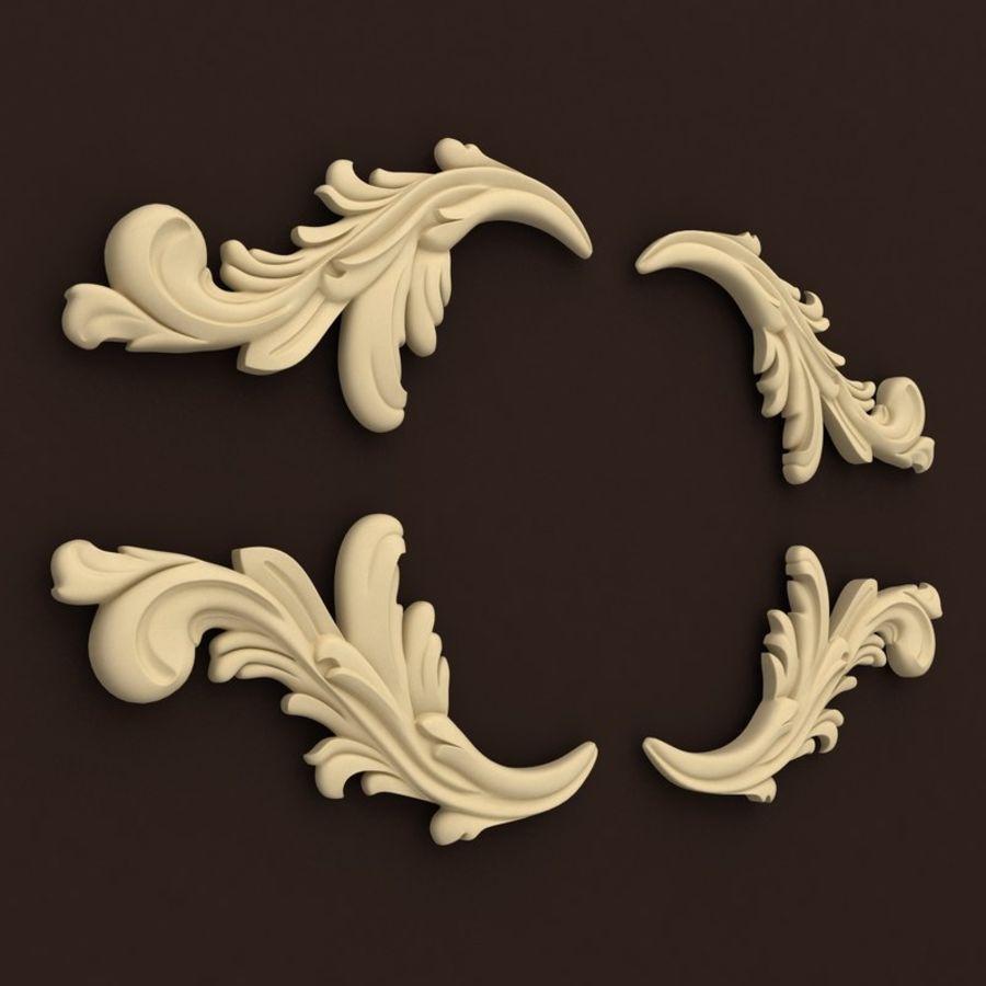 décor royalty-free 3d model - Preview no. 3