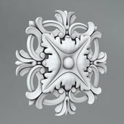 Carved rosettes 39 3d model
