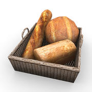 Bread 2 3d model