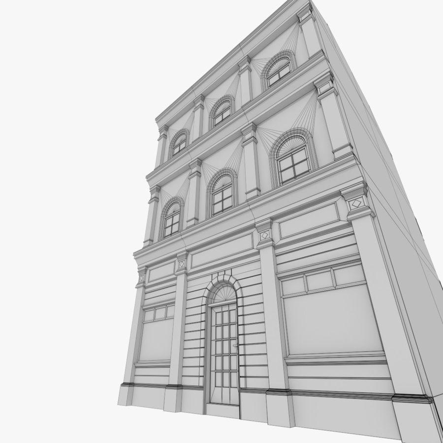 Avrupa yapı yedi dokulu royalty-free 3d model - Preview no. 13