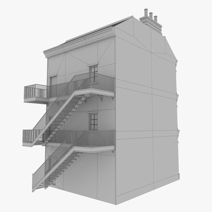 Avrupa yapı yedi dokulu royalty-free 3d model - Preview no. 11