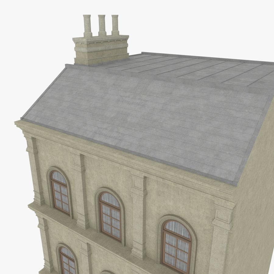 Avrupa yapı yedi dokulu royalty-free 3d model - Preview no. 6