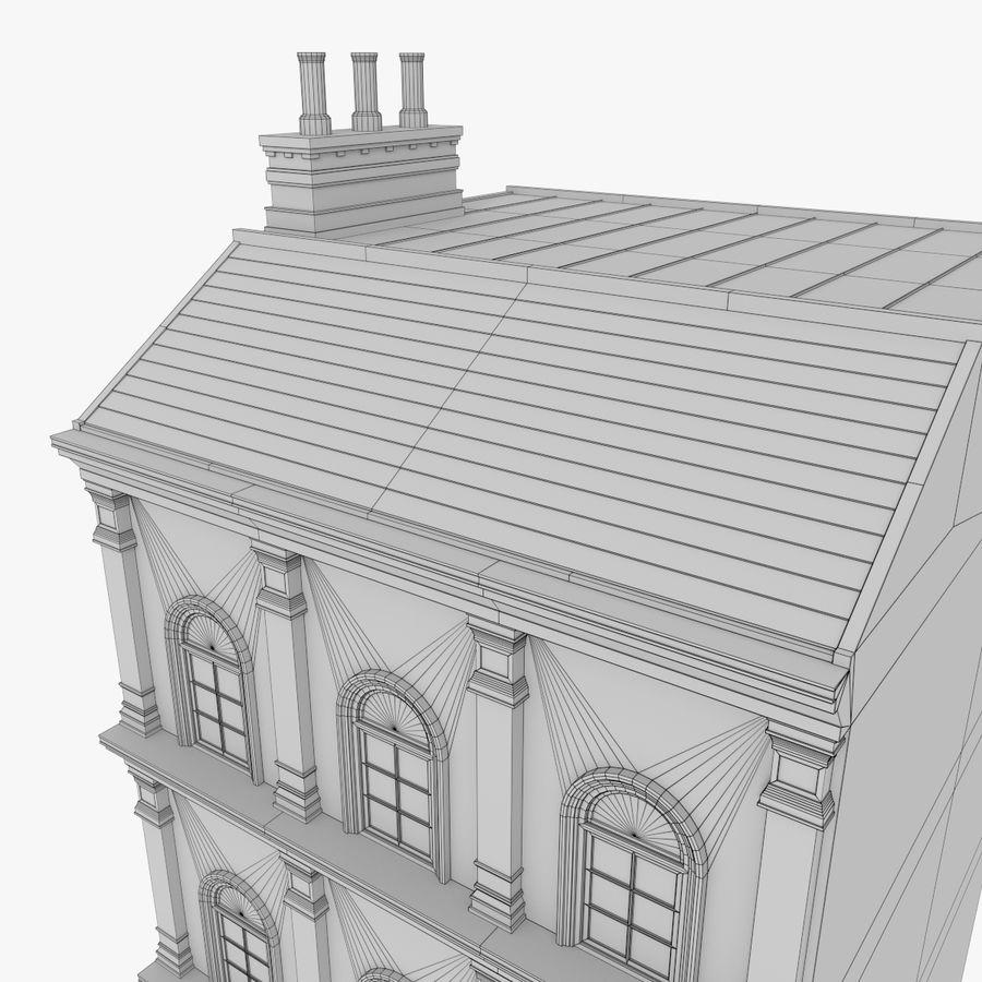 Avrupa yapı yedi dokulu royalty-free 3d model - Preview no. 14