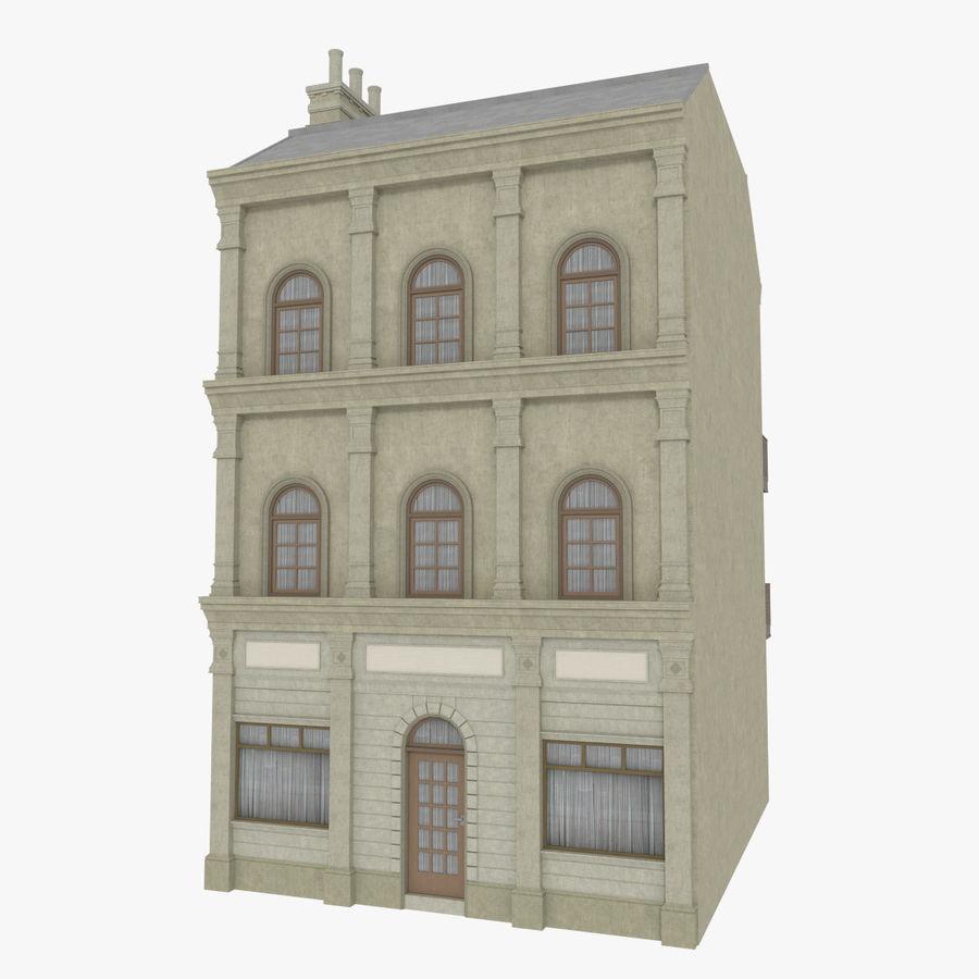 Avrupa yapı yedi dokulu royalty-free 3d model - Preview no. 1