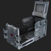 Cassa di armi Scifi 3d model