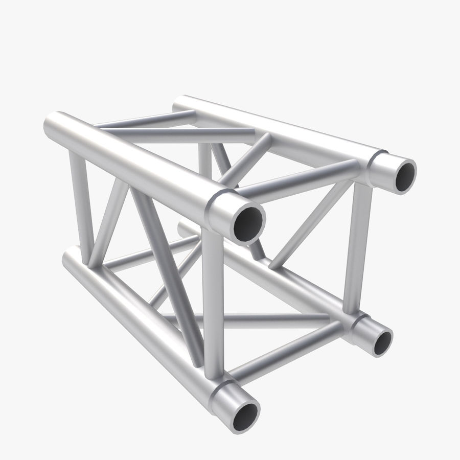 Straight Truss Collection (Square) royalty-free 3d model - Preview no. 4