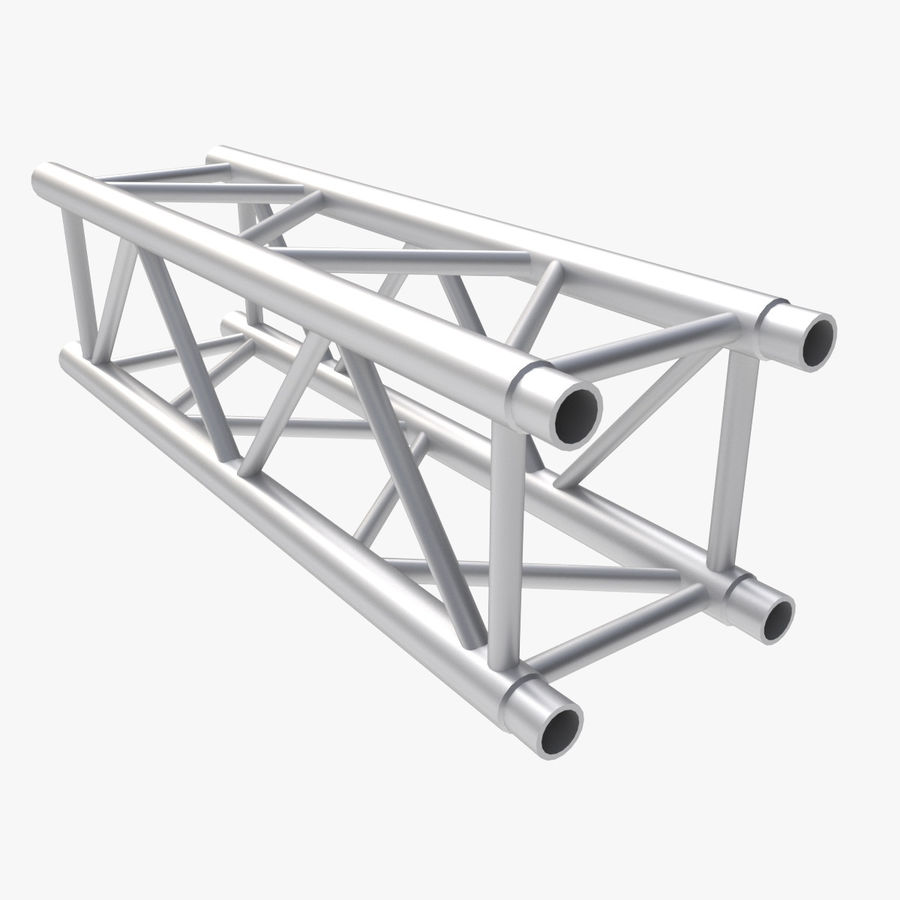 Straight Truss Collection (Square) royalty-free 3d model - Preview no. 8