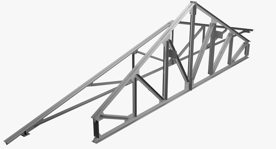 Truss royalty-free 3d model - Preview no. 2