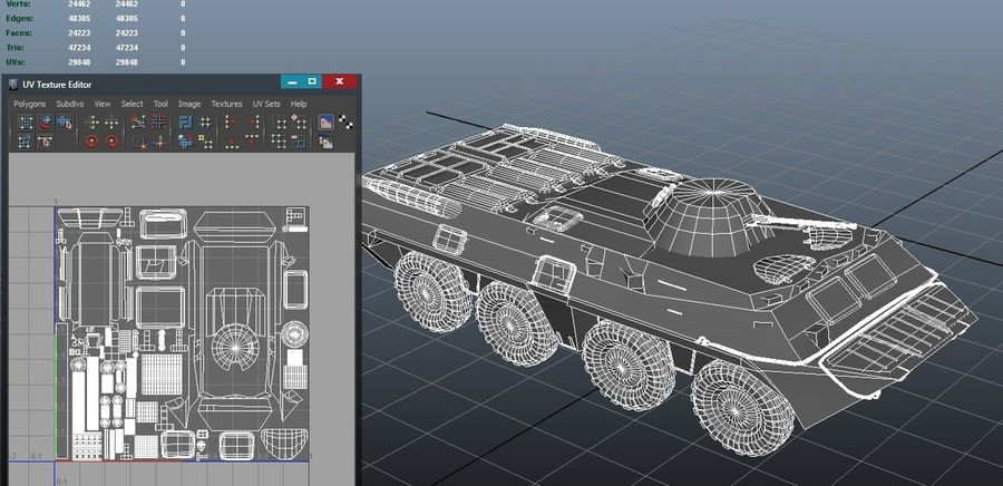 btr royalty-free 3d model - Preview no. 4