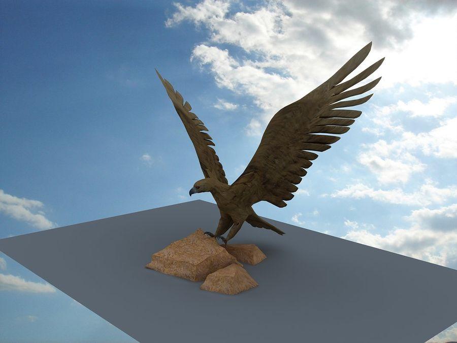Eagle-Statue 3D Model $10 -  max - Free3D