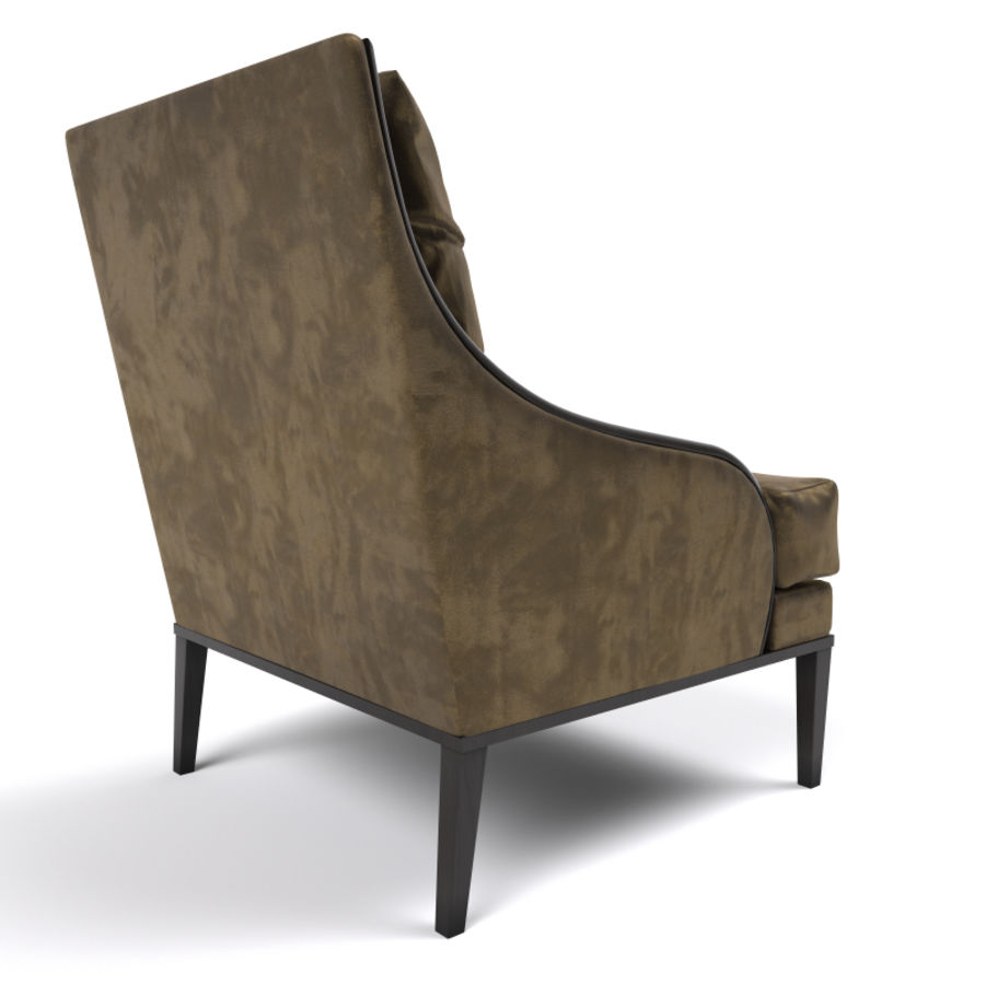 ASTER CHAIR BY CENTURY FURNITURE royalty-free 3d model - Preview no. 3