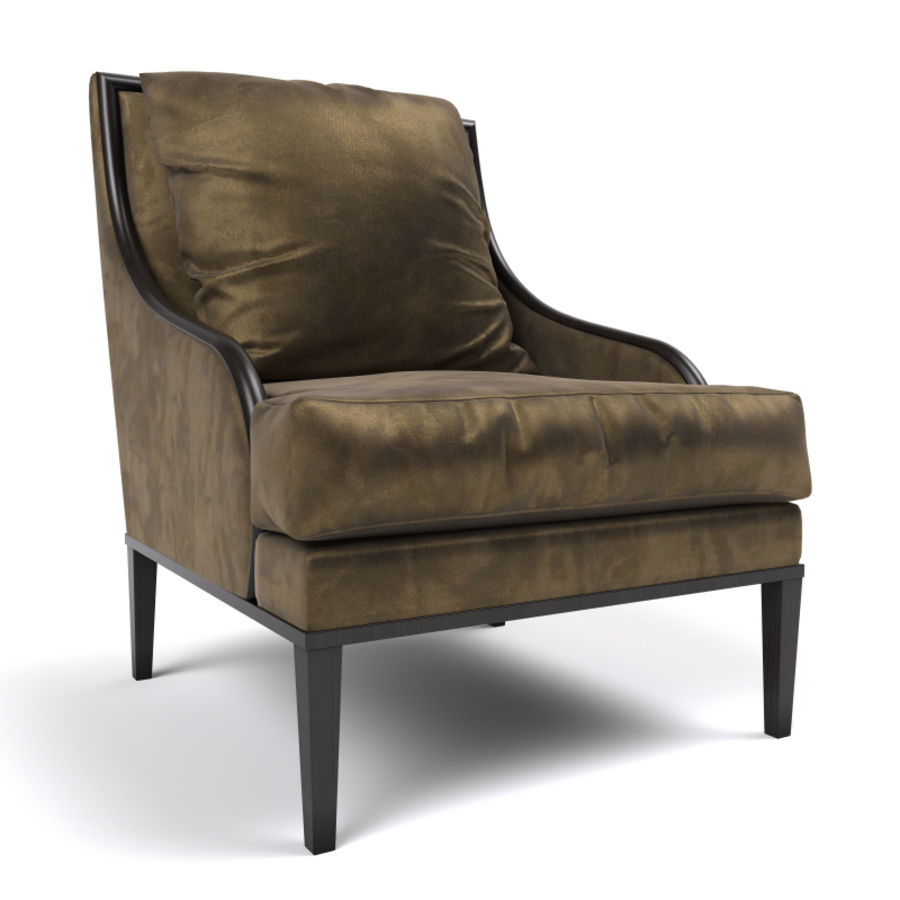 ASTER CHAIR BY CENTURY FURNITURE royalty-free 3d model - Preview no. 1