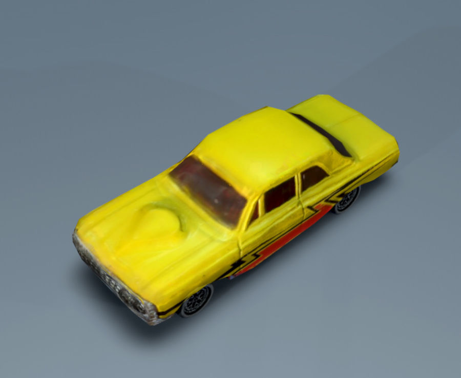 car low texture royalty-free 3d model - Preview no. 3