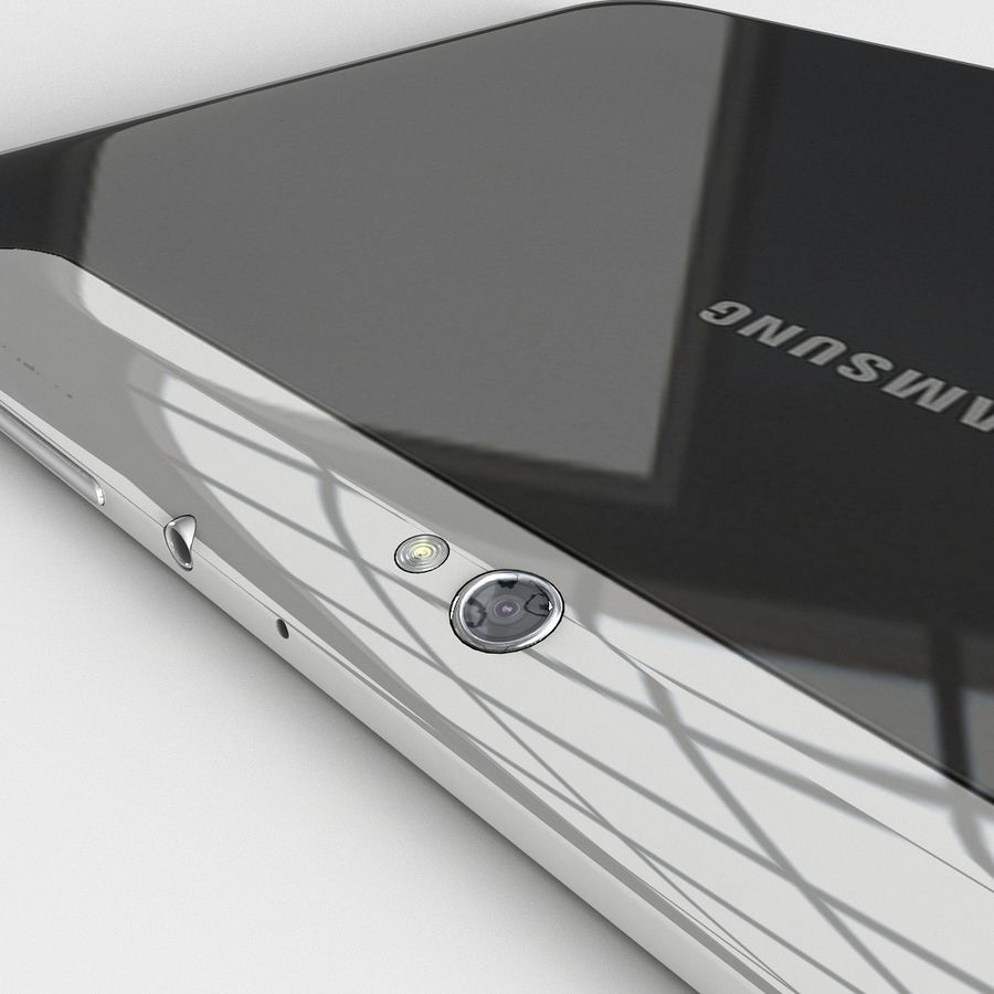 Samsung Galaxy Tab 8.9 royalty-free 3d model - Preview no. 7