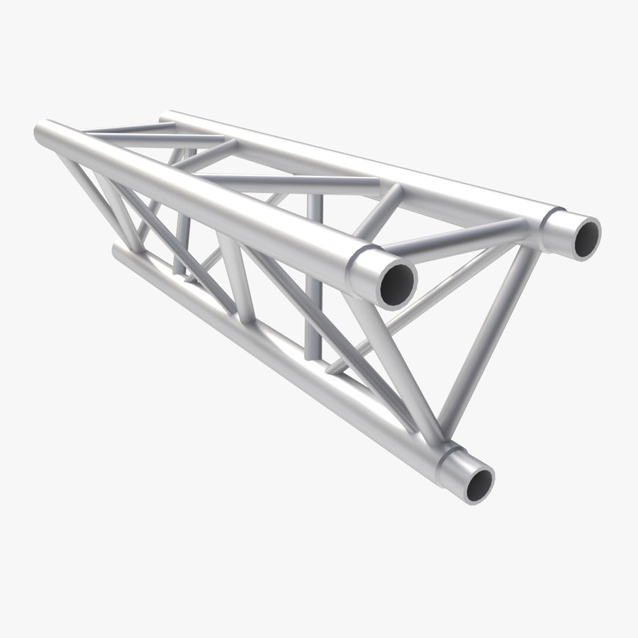 Straight Truss Collection (Triangle) royalty-free 3d model - Preview no. 8