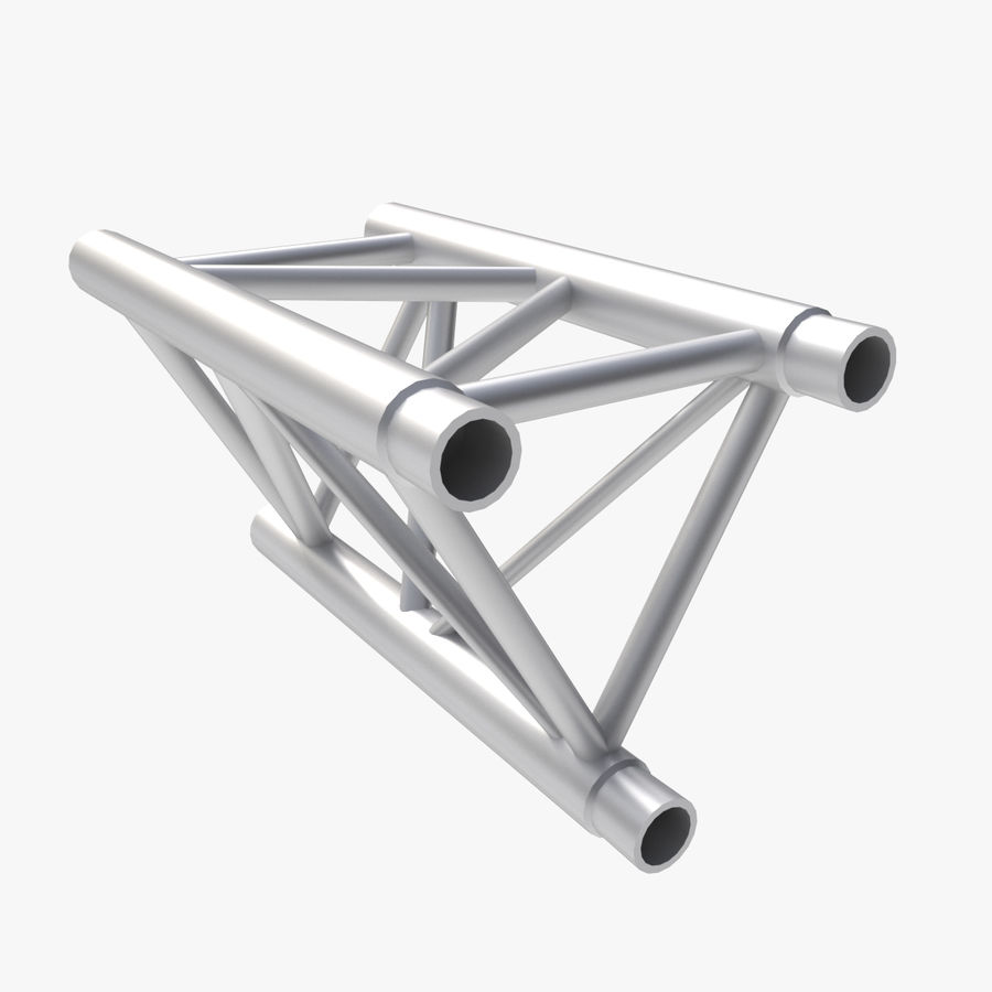 Straight Truss Collection (Triangle) royalty-free 3d model - Preview no. 4