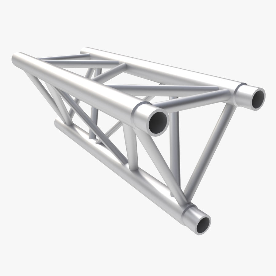 Straight Truss Collection (Triangle) royalty-free 3d model - Preview no. 6